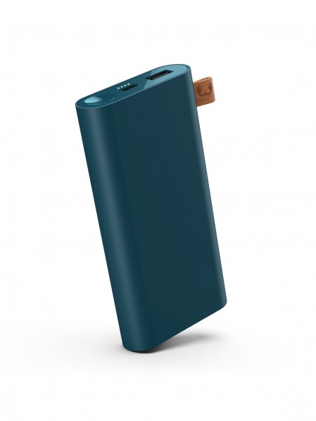 Powerbank 12000 mAh USB-C Petrol Blue